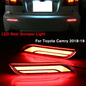 Led Light Rear Warning Bumper Light Car Brake Light Rear For Toyota Camry 18 19