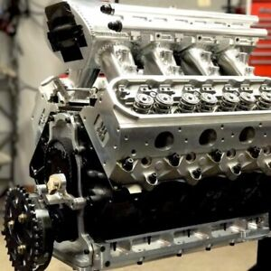 Chevrolet Twin Turbo Ls7 Billet Engine 427 Cu 1200 Hp 7200 Rpm Restomod S