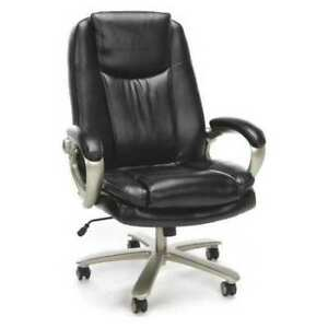 Ofm Inc Ess 201 brn Chair big And Tall leather bronze Mist