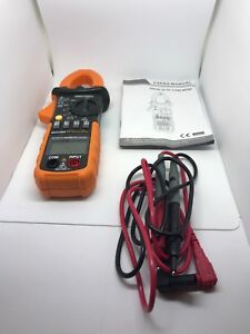 Protmex Ms2108 Clamp Meter T rms 6000 Counts Ac dc Meters Inrush Ammeter