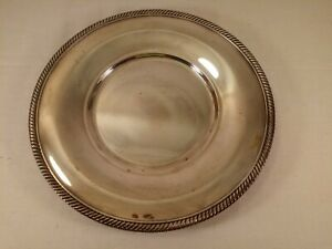 International Silver Co Castleton Silver Plate Tray Platter 10 673