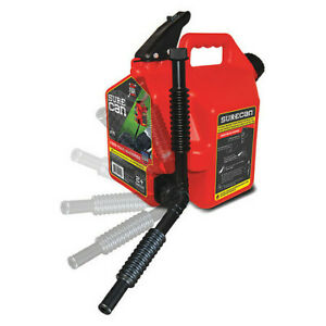 Surecan Sur22g1 Gas Can 2 2 Gal self Venting red