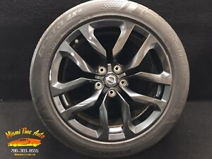 2014 2015 2016 Nissan 370z 18 Front Factory Oem Wheel Rim Charcoal Gray 18x8