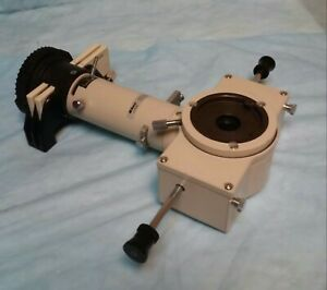 Nikon Fluorescence Attachment Optiphot Labophot Microscope With B 2e And G 1b