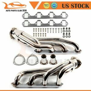 For Mustang Cougar 260 302 V8 Stainless Steel Long Tube Exhaust Header Manifold