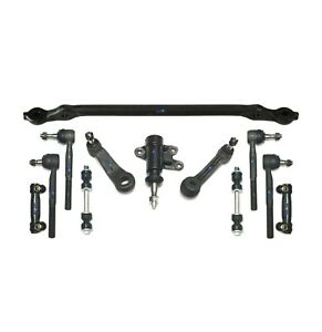 12 Pc Suspension Kit For Chevrolet Gmc Idler Pitman Arm Tie Rods Center Link