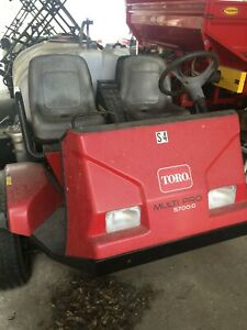 Toro Multipro 5700d 2006 With Only 1836 Hours 300 Gallon Tank