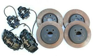 2005 2007 Subaru Wrx Sti Brembo Brake Caliper Set W Rotors A0045