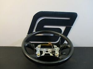 1999 Mitsubishi 3000gt Driver Left Steering Wheel Leather Switch black Flaw