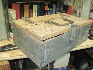 Tool Box Chest Primitive Antique Wood Wooden Vintage Early 1900 S Weathered