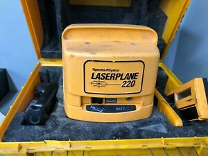 525spectra physics Laserplane 220 Leveling Laser Level With Case L 220
