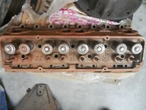 Gm Chevy 1968 69 327 Cid V8 Cylinder Heads 3917293 Pair