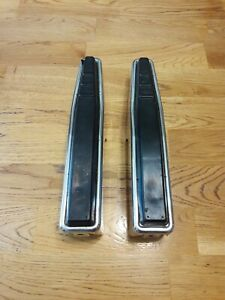Vintage 1970 s 1973 1977 Ford F150 F250 Truck Front Bumper Guards Chrome