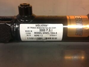 Prince Hydraulic Cylinder 1 5 Bore X 4 Stroke New Free Shipping