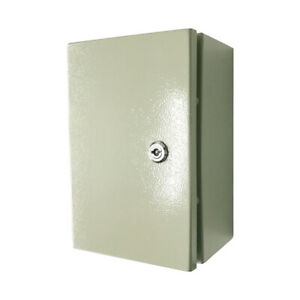 Carbon Steel Electrical Box Enclosure 10 X 8 X 6 Inches