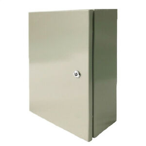 12 X 12 X 6in Carbon Steel Electrical Enclosure Cabinet 16 Gauge Ip65