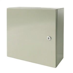 Toolots 16 X 16 X 8 In 16 Gauge Ip65 Carbon Steel Electrical Enclosure Cabinet