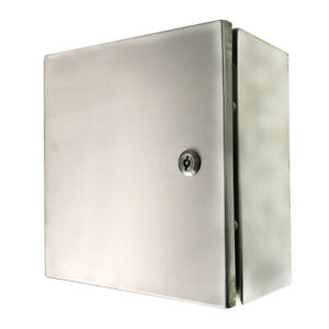 Toolots 12 X 12 X 6 In 16 Gauge 304 Stainless Steel Electrical Enclosure Ip65