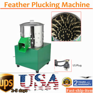 Pro Plucker Machine Chicken Quail Doves Poultry Depilator Stainless Steel
