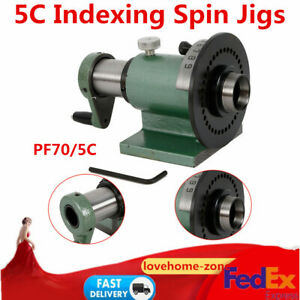 Usa Industral 5c Indexing Spin Jig Fixture Model For Grinders Milling Machines