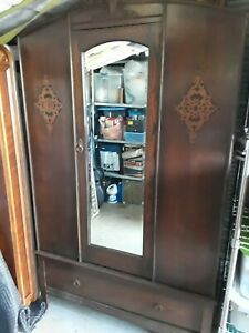 Antique Armoire Wardrobe Closet