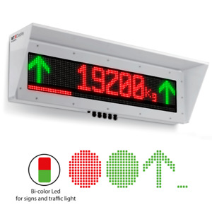 Wtdisplay Remote Display For Truck Scales Traffic Lights Bar Graph