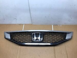 2008 2010 Honda Accord Coupe Grill Grille With Emblem Oem 08 10