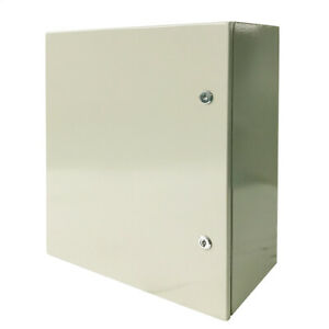 Toolots 24 X 24 X 12 In 16 Gauge Ip65 Carbon Steel Electrical Enclosure Cabinet