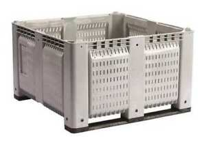 Decade Products M48pgy6 Bulk Container Gray 44 3 4 w