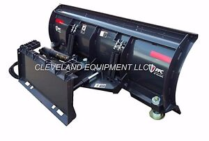 New 96 Ffc 5700 Snow Plow Attachment Skid steer Loader Hydraulic Angle Blade 8