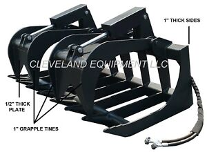 New 78 Severe duty Root Grapple Attachment Bobcat Skid Steer Track Loader