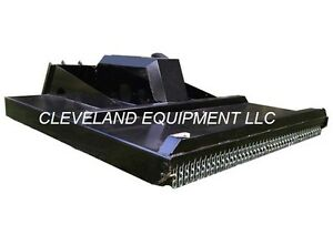New 60 Hd Brush Cutter Mower Attachment Skid Steer Track Loader 15 28gpm 5