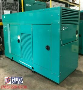85kw Cummins Natural Gas Stationary Generator Gghg S n C110201161