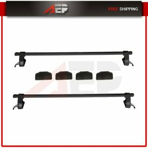 48 Universal Top Roof Rack Cross Bars Luggage For 4 Door Car Suv Truck Jeep
