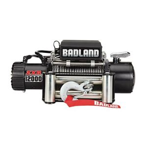 Badland Winch 12000 Lb Off Road Vehicle Winch W Auto Load Holding Brake