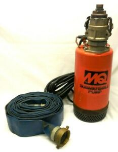 Multiquip 2 Submersible Pump W 30 Discharge Hose Works