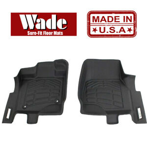 Sure fit Floor Mats Front Fits 2002 2008 Dodge Ram 1500 4wd