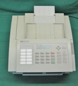 Vintage Hp Fax 700 Fax Machine Working Great Needs Ink