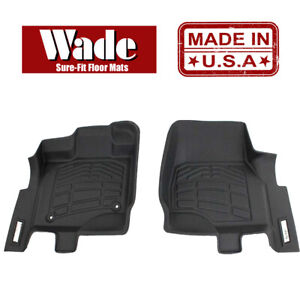 Sure fit Floor Mats Front Fits 2015 2019 Ford Mustang