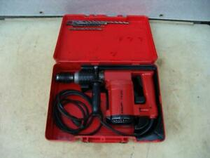 Hilti Te 22 Rotary Hammer Drill With Bits Works Well