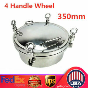 Sanitary Stainless Steel Manhole Size 350mm ss304