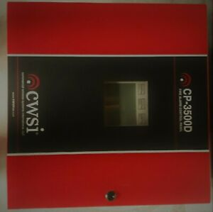 Cwsi Cp 3500d Wireless Commercial Fire Alarm System