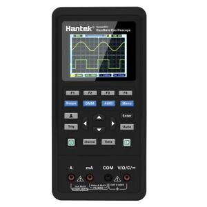 Hantek Handheld 2in1 2ch Digital Oscilloscope Tester Multimeter 40mhz 70mhz Dmm