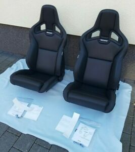 Recaro Cross Sportster Cs Seats Artificial Leather Pair Brand New