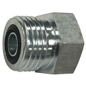 Parker 12 Pnlo ss Hydraulic Plug male Ors Fitting Thread