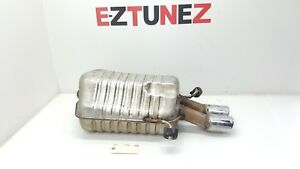 2001 2007 Mercedes Benz C32 Rear Exhaust Muffler Amg Sport Oem