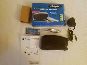 Swingline Electric Stapler Model 421xx Value Pack Unused Open Box 2 15 Sheet