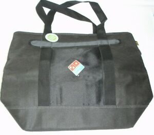 Domino s Pizza Insulated Delivery Bag 22 X 18 Black W Logo New