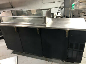 Perlick Bb84 84 Refrigerated Beer Cooler Space Compartment For Beer Bottles