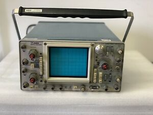 Tektronix 465b Two Channel Oscilloscope Two Probe 100mhz